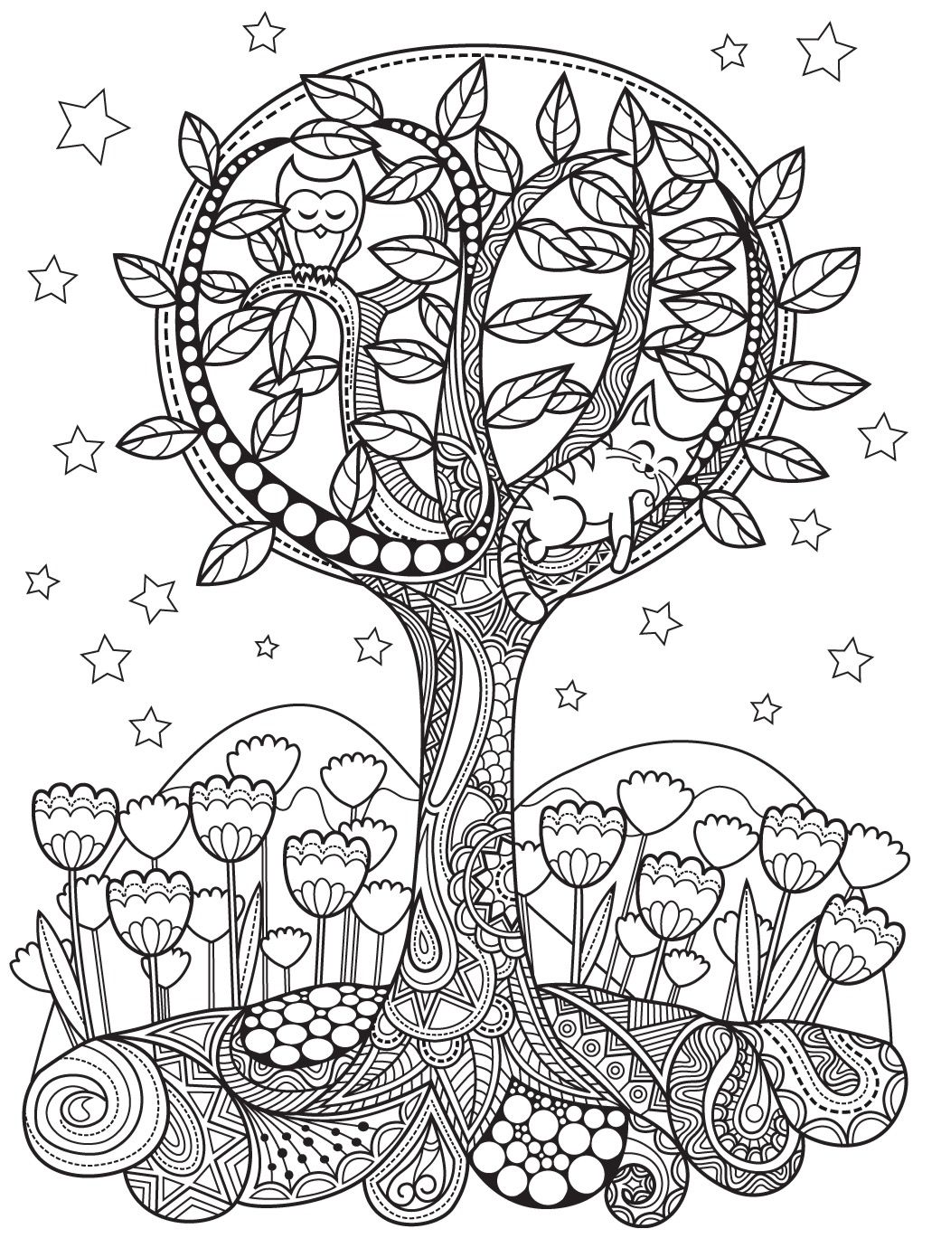 Gardens | Colorish: coloring book app for adults mandala relax by ...