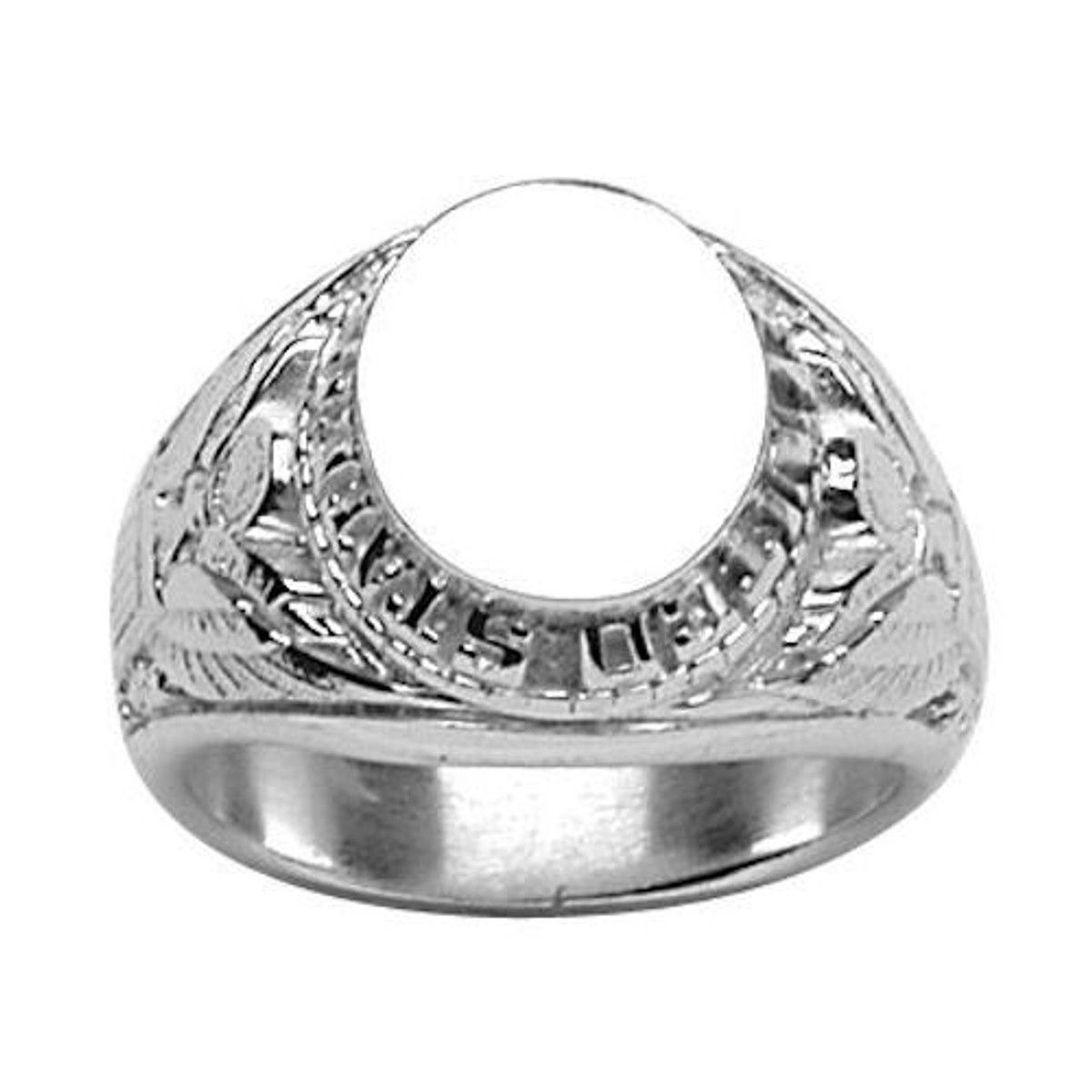 bague homme argent taille 67