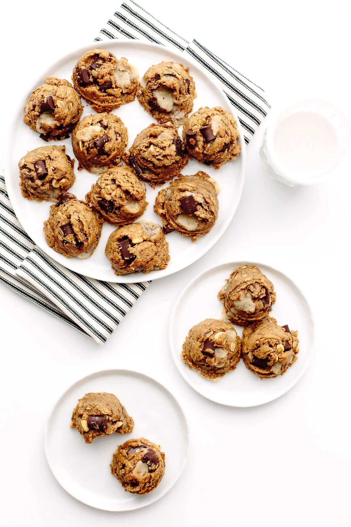 Peanut Butter Kitchen Sink Cookies | Vegan, Gluten-Free | Recipe ...