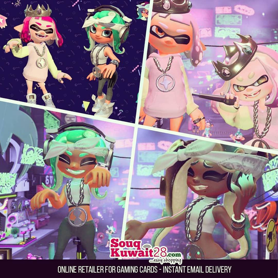 The Pearl And Marina Splatoon2 Amiibo Figures Take The Stage July 13th With Each Amiibo You Can Unlock A Unique Octo Expansi Splatoon Amiibo Splatoon Comics