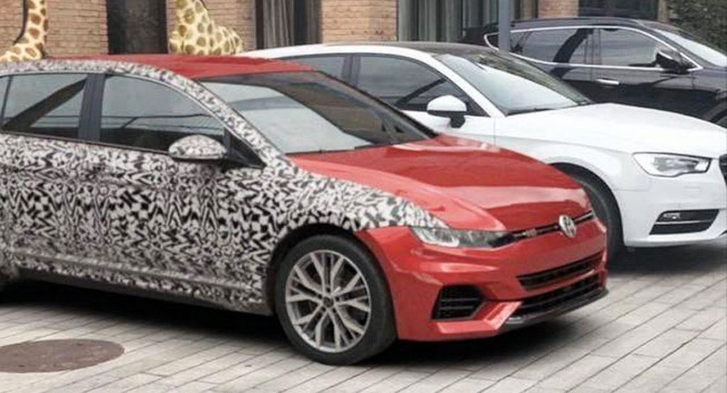 2020 Volkswagen Golf Mk8 Is This It Or Is Someone Trying To Fool Us Volkswagen Volkswagen Golf Car Salesman