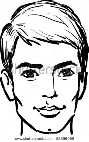 outline drawing man face - google search | sketch ideas | pinterest