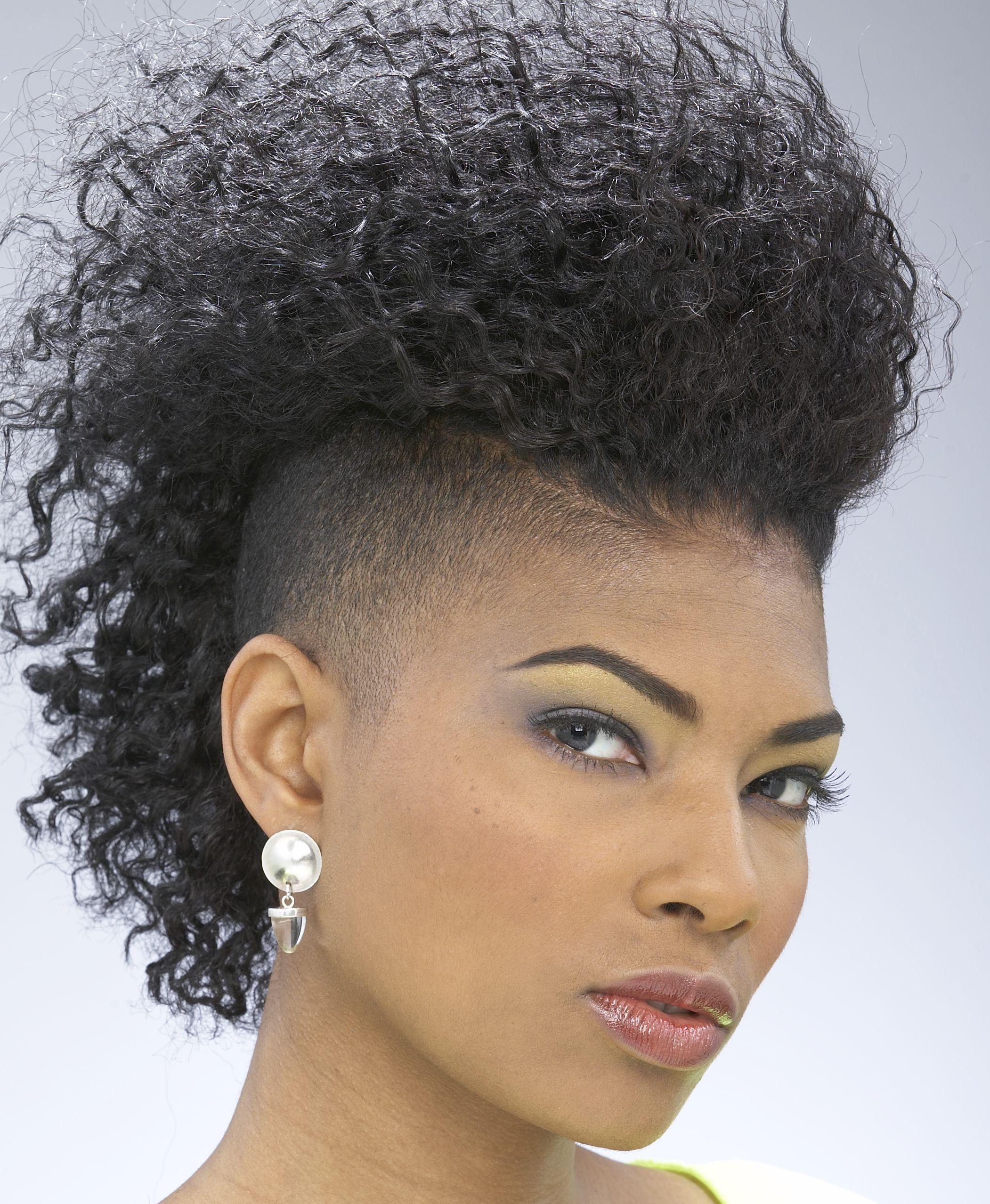 Crimped faux hawk hair afrotastic pinterest natural faux