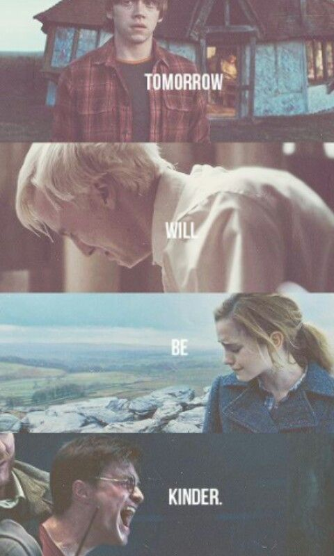 Makes me want to cry!! And Malfoy in that picture... hear that?? That's my heart breaking. He's the boy who had no choice :(