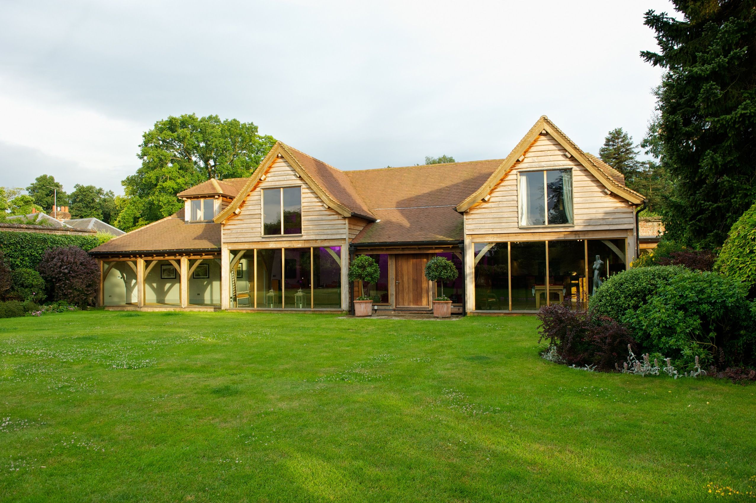 Gorgeous open plan barn style home tucked away at the bottom of an