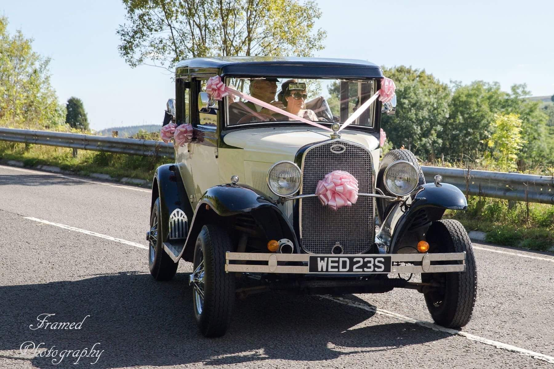 This Is Brecon Wedding Cars And Their Fleet Of Vintage Style Luxury Modern Vehicles