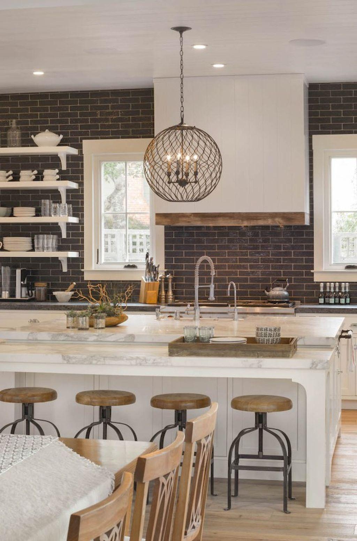 100 Stunning Farmhouse Kitchen Ideas on A Budget (39