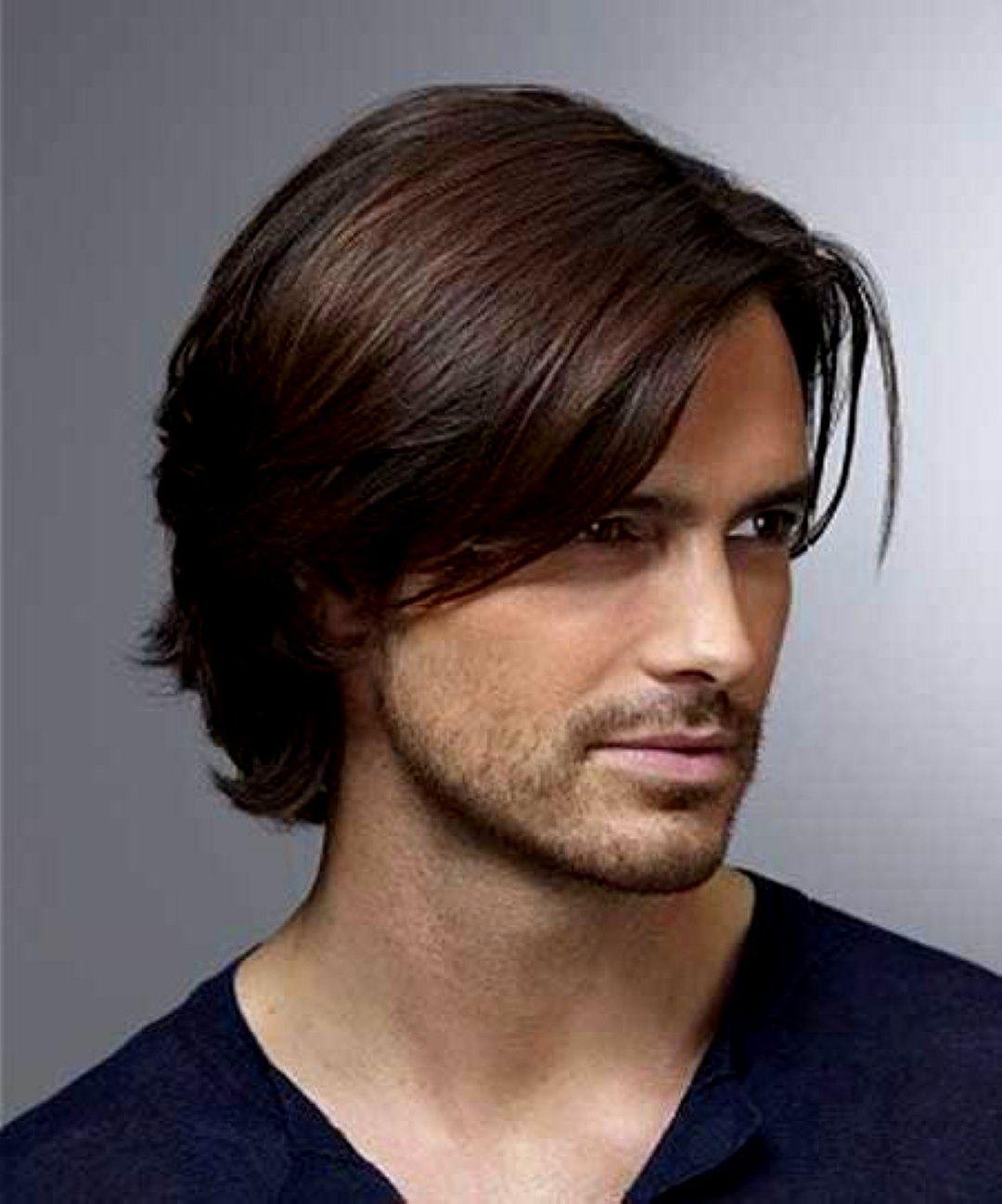 Men Hairstyles Medium Long Hairstyles Pinterest Men Hairstyles