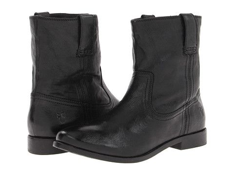 Frye anna shortie antique soft vintage, Black