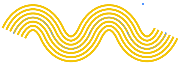Make Wavy Line Pattern In Illustrator Google Search Yellow Brick Road Brick Road Ipad Pro Art