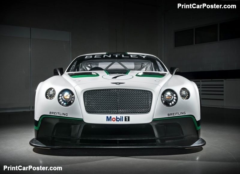 Bentley Continental GT3 Racecar 2014 poster, #poster, #mousepad ...