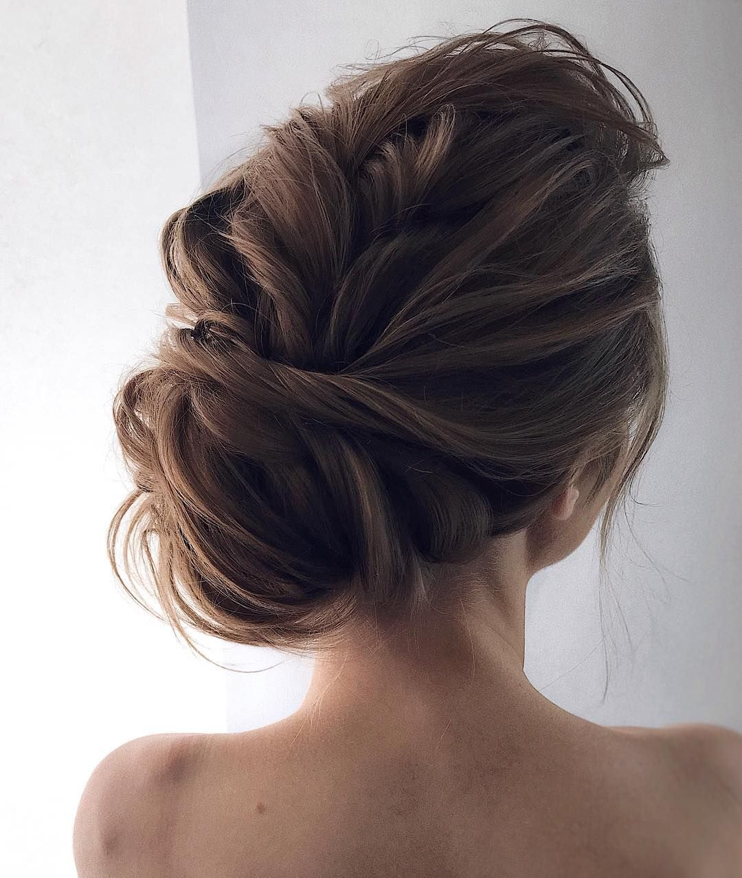 18 Creative And Unique Wedding Hairstyles For Long Hair: Gorgeous Wedding Updo Hairstyle To Inspire You
