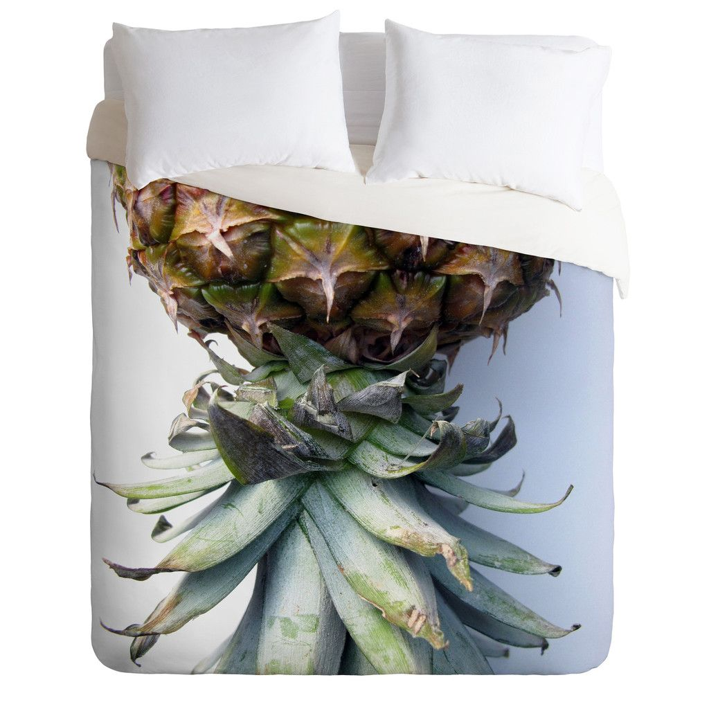 Deb Haugen Pineapple 2 Duvet Cover | DENY Designs Home Accessories
