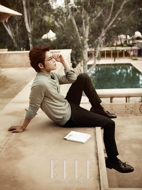 Jaejoong for ELLE Magazine (November 2012)