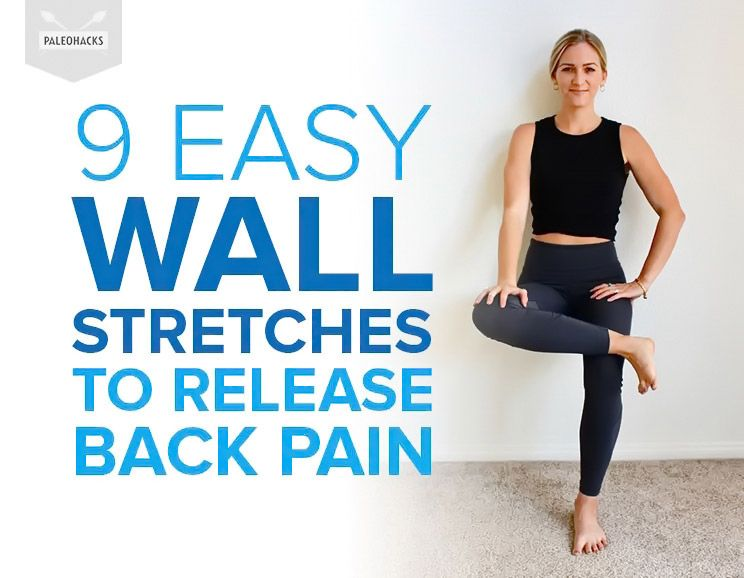 9 Easy Wall Stretches to Release Back Pain & Tight Shoulders