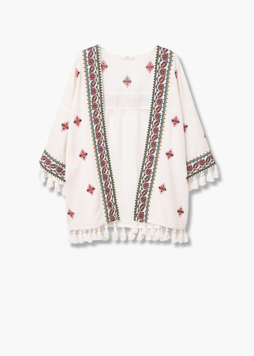 28205590a Caftán bordado - Mujer   Fashion   Chaquetas y Bordado