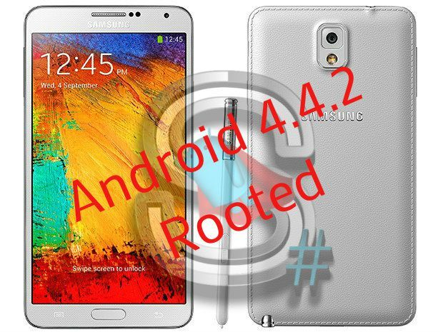 How To Root Galaxy Note 3 Android 4 4 2 Kitkat Xxuena6 Galaxy