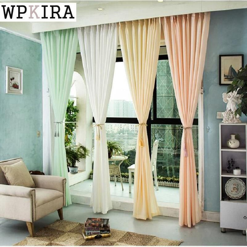 Green White Cotton Modern Country Style Decorative Cloth