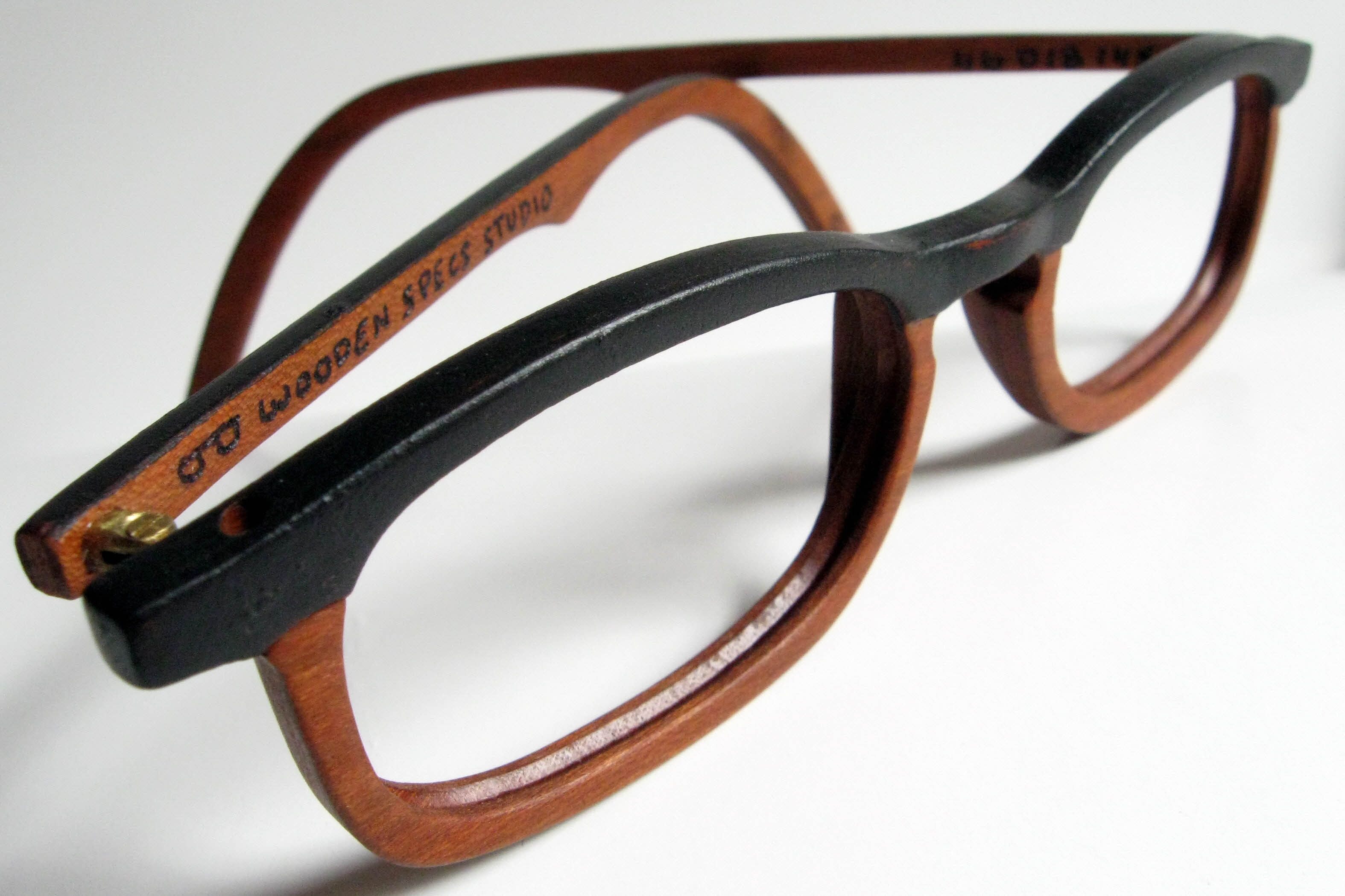 Wood Art Eyeglass Frames by Wooden Specs Studio now available at Art ...