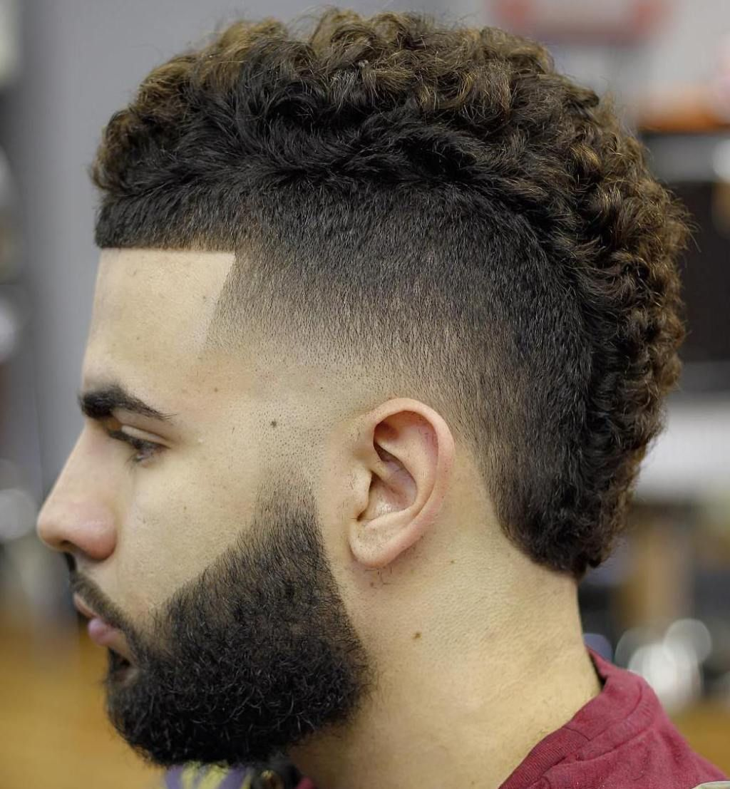 20 Types Of Fade Haircuts That Are Trendy Now Short Curly Mohawk