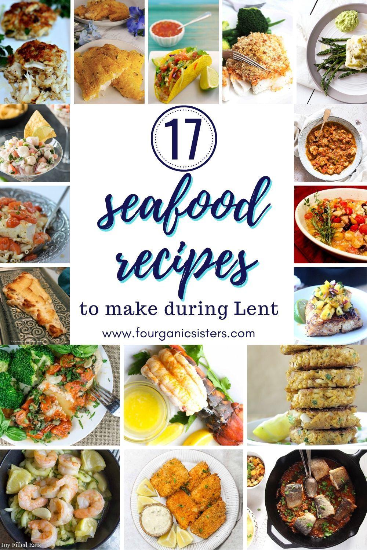 Lent recipes, Seafood recipes ...