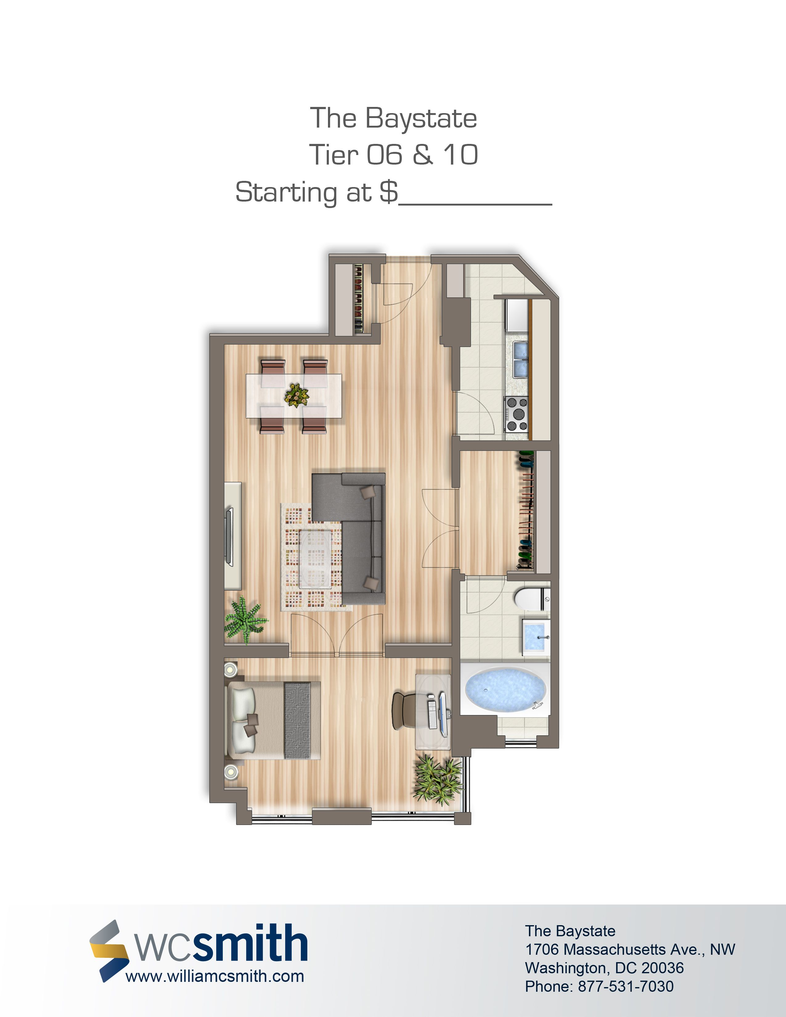 Baystate Apartments Floor plans, Apartment floor plans