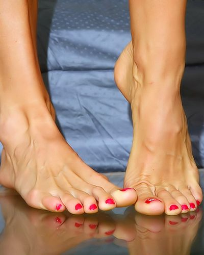 Consider, what female feet toes heels think, that