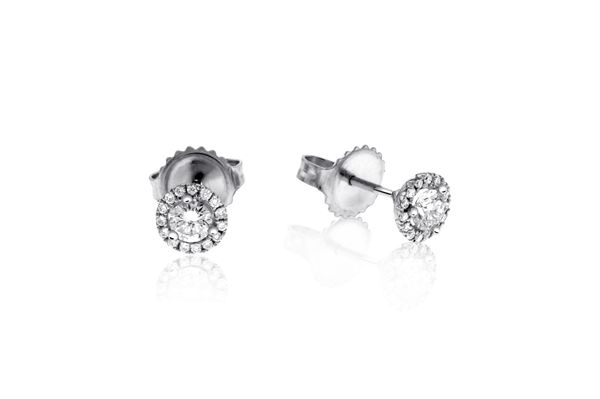 1 4 Carat Diamond Margarita Studs Reis Nichols Jewelers Stud Earrings Earrings Diamond Earrings Studs