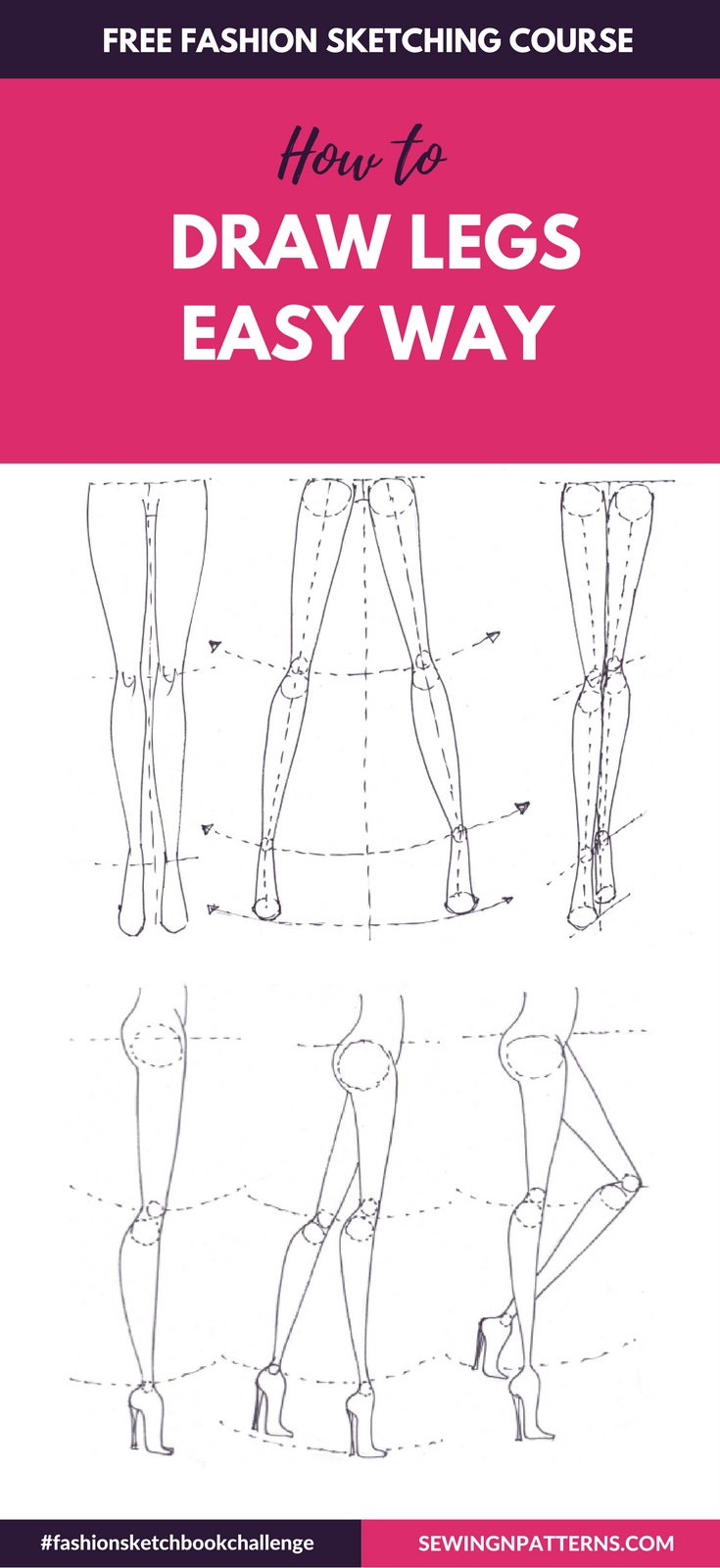 Photo of Fashion Sketchboook Challenge New – sewingnpatterns