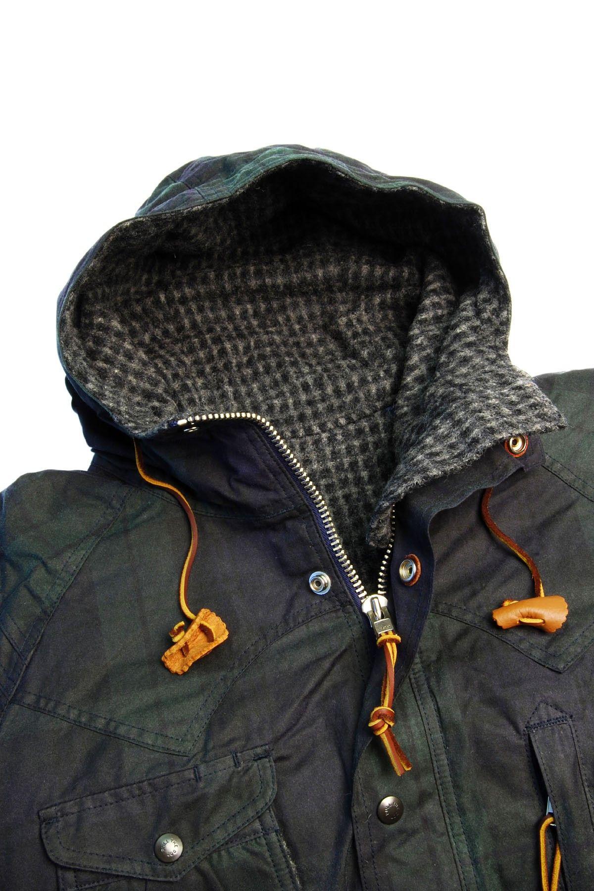 Mountain Parka Waxed Black Watch Monitaly Shop By Brand Outerwear Details Black Watch Parka [ 1800 x 1200 Pixel ]