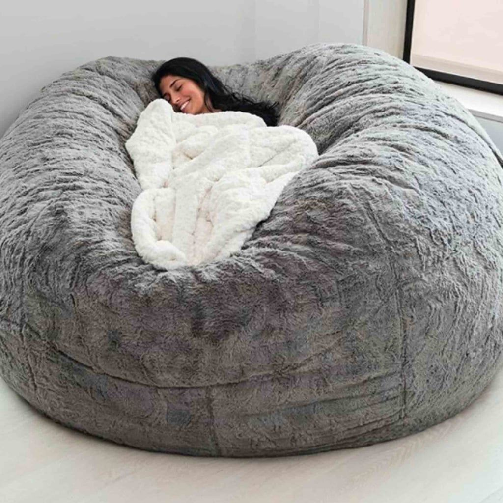 The Bigone Bean Bag From Lovesac Bedroom Seating Comfy Bedroom Bean Bag Chair