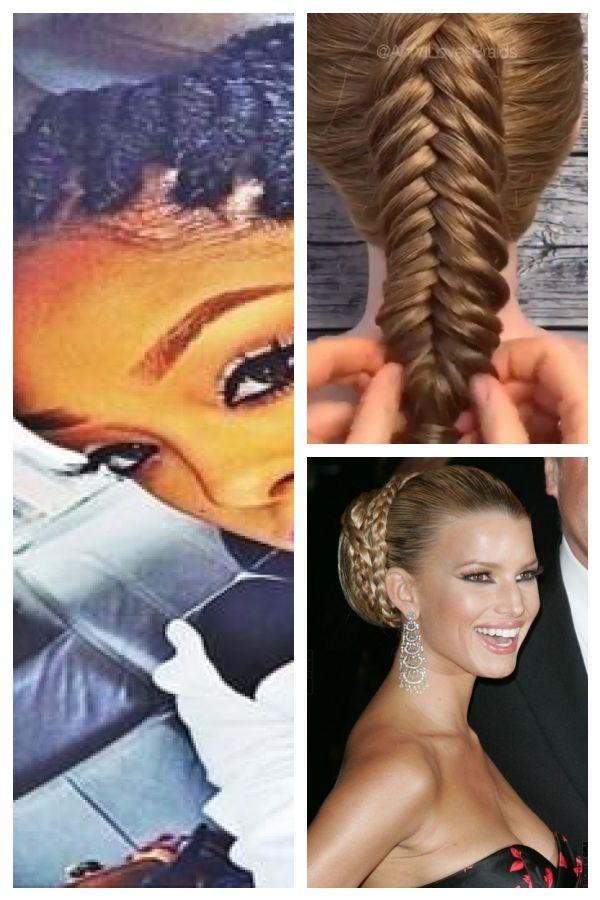 Loose Braid Hairstyles African American #geflochteneFrisuren #loosebraidedhairstyles #loosebraids