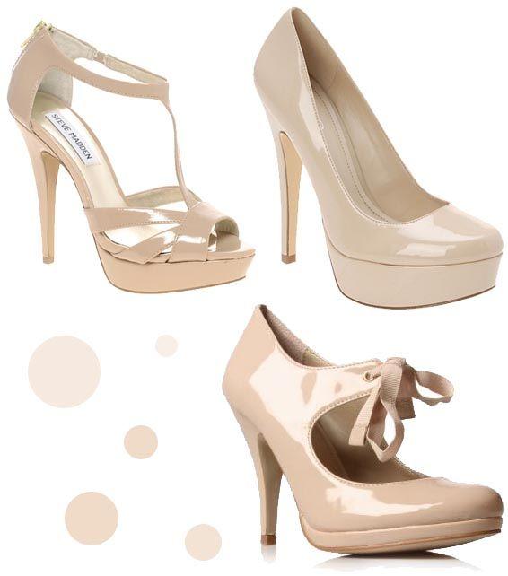 Nude Peep Toe Wedding Heel with Lace & Beadwork, Nude Bridal Heel ...