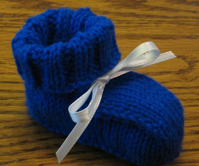 Bottom Up Booties Free Pattern Knitting Baby Hats Booties