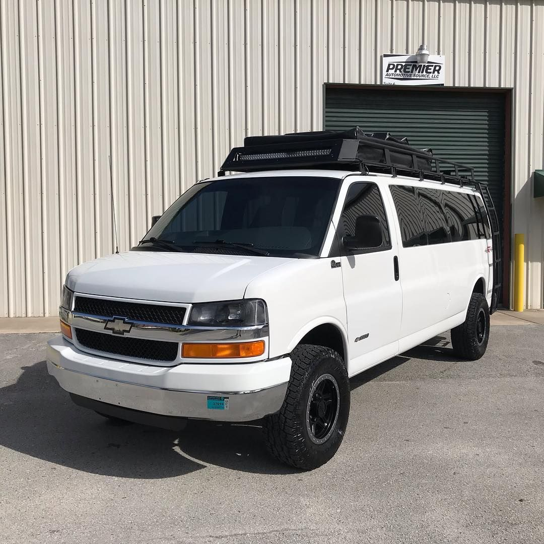 Super Cool And Rare Quigley 4wd Chevy Express 3500 Van Offered At