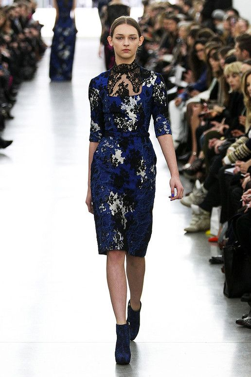 LACE - Erdem Fall 2012 Ready To Wear - Autunno Inverno 2012 2013