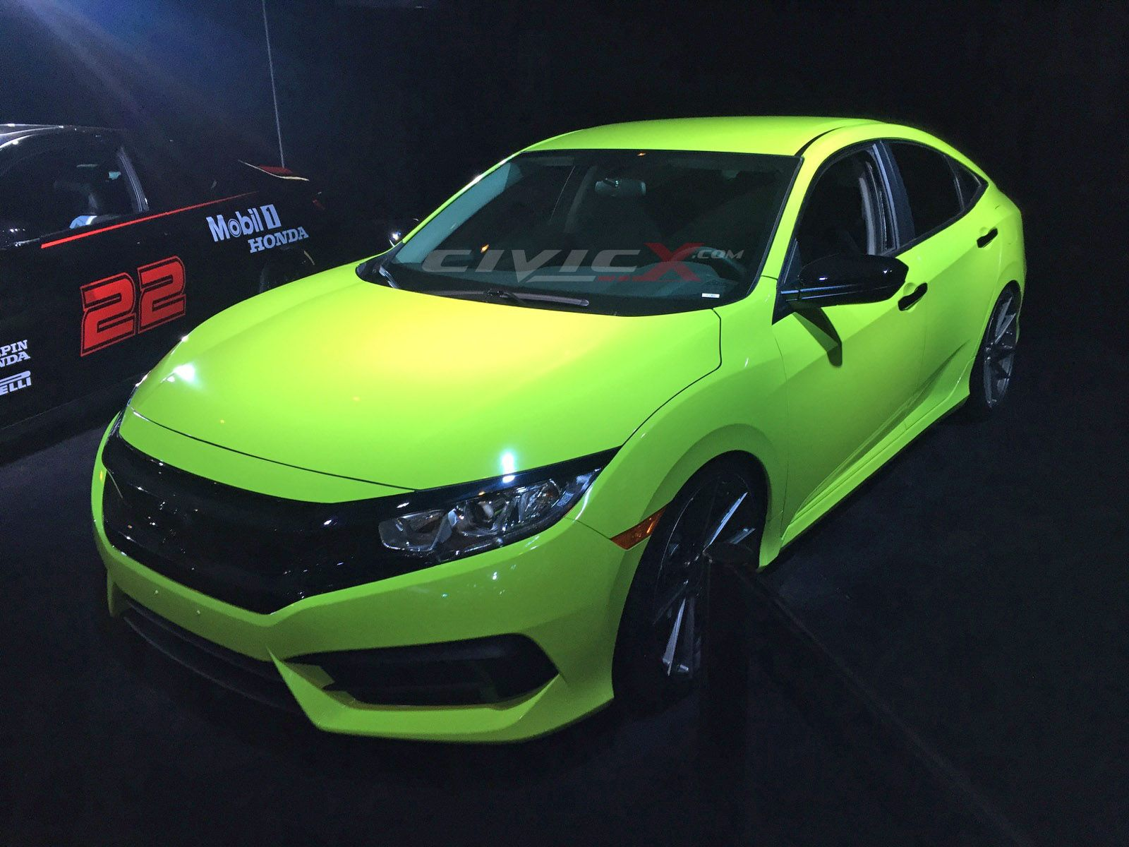 Galpin Auto Sports_at LA Auto Show with green wrapped
