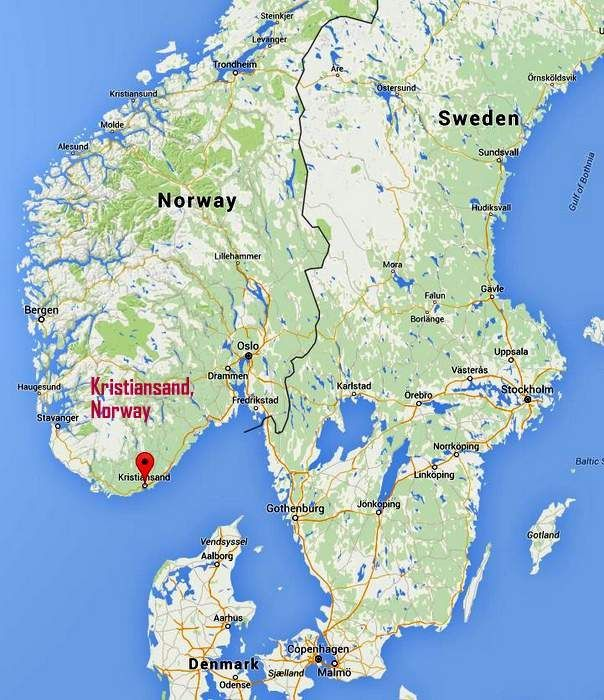 9 Fun Facts About Kristiansand Norway Norway cruise Pinterest