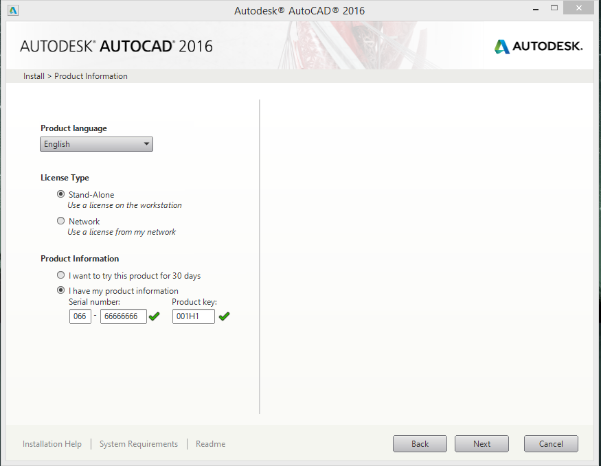AutoCAD 1.2 serial key or number
