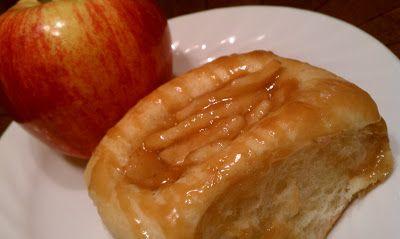 At Home With Haley: Caramel Apple Kolaches