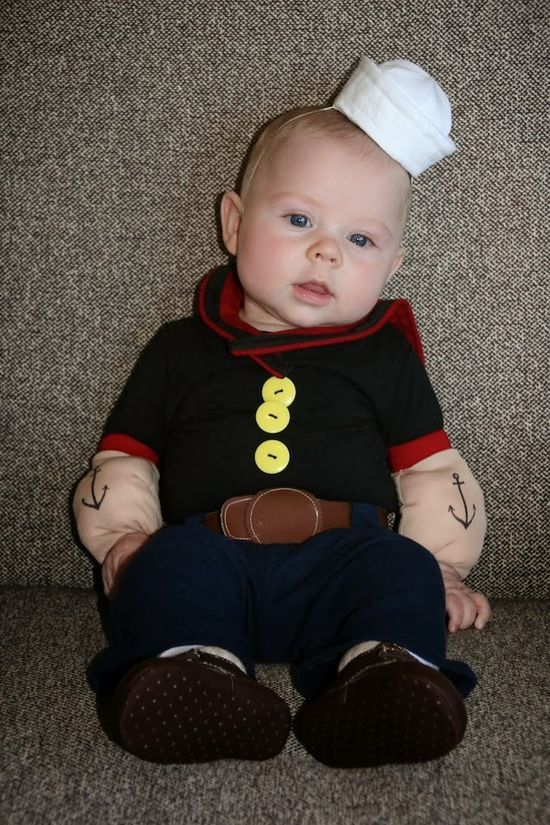 Even More DIY Halloween Costume Ideas for Babies  #baby girl #cute - diy infant halloween costume ideas