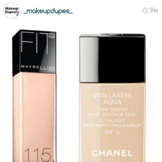c0987436 A dupe for chanel vitalumiere aqua | my makeup | Makeup dupes ...