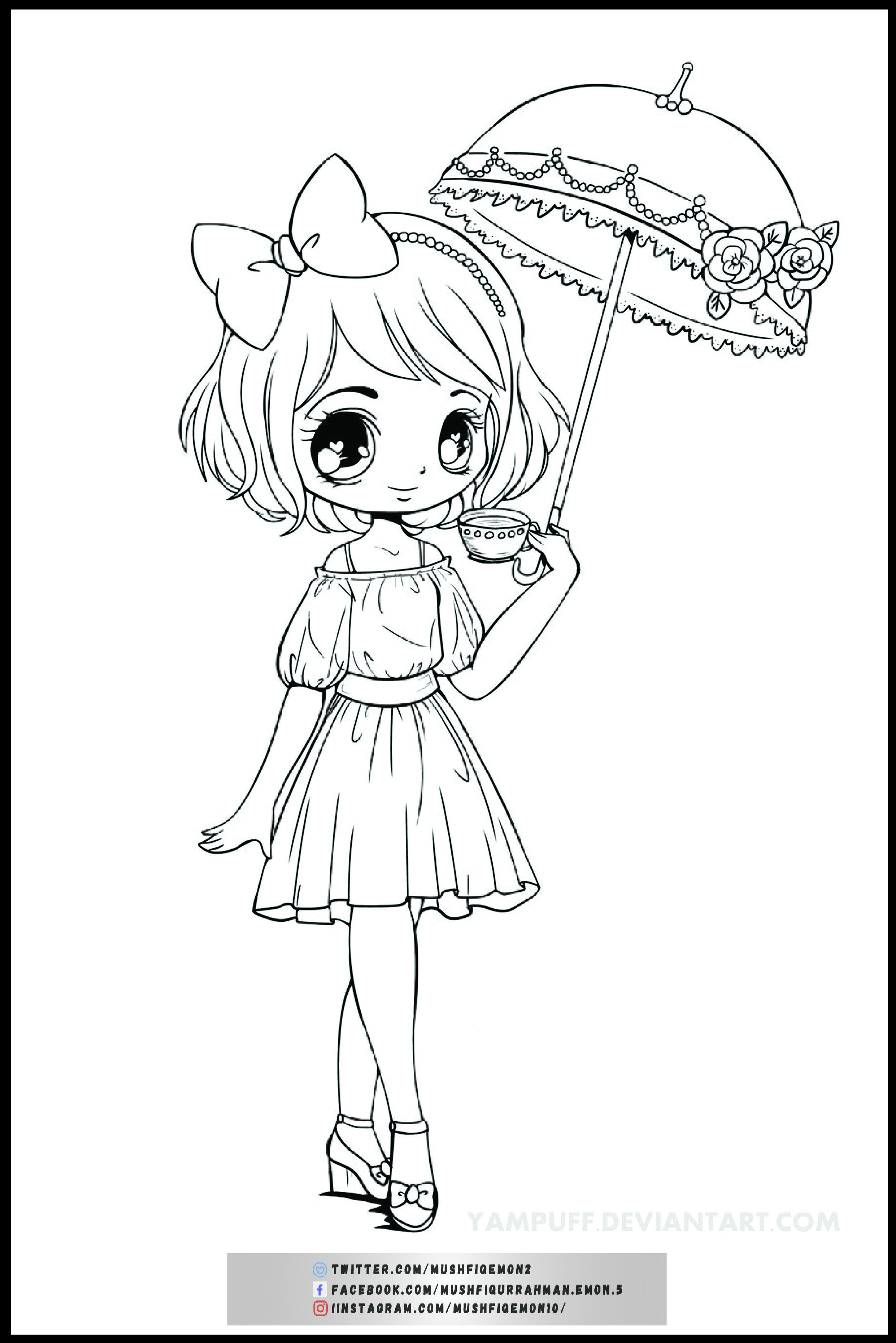 Mushfiqemon I Will Make Coloring Book Page For Kids And Adults For 5 On Fiverr Com In 2021 Chibi Coloring Pages Cute Coloring Pages Coloring Pages
