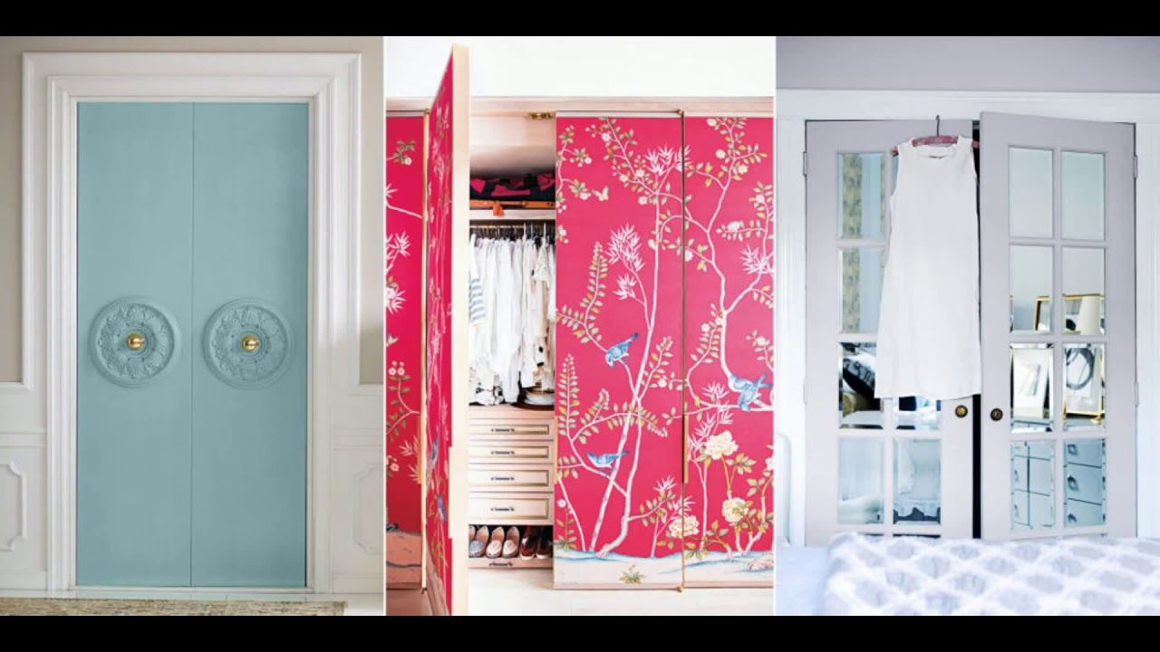 Closet Door Ideas DIY Sliding With Curtain For Small Bedroom