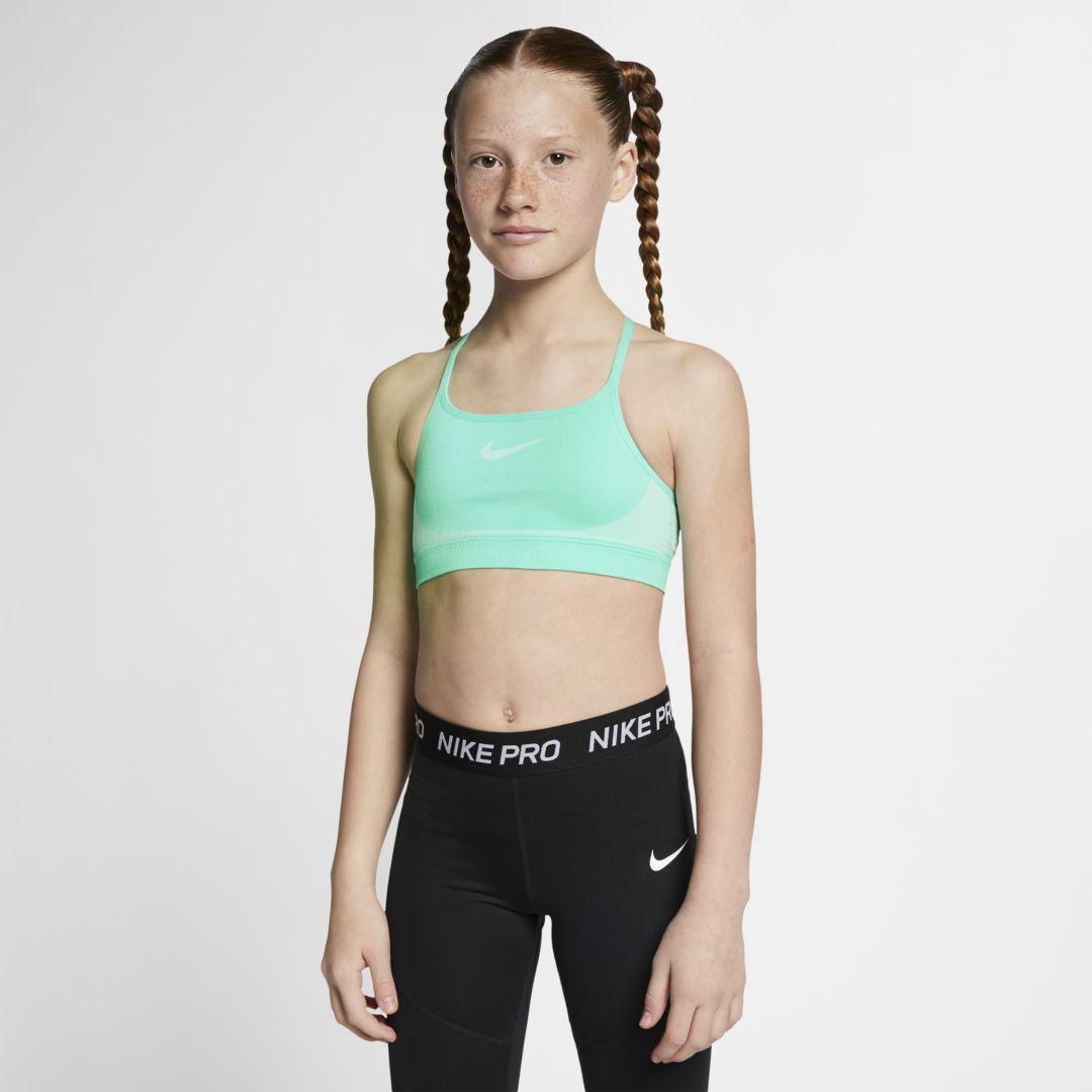 ec3a534f4 Nike Seamless Big Kids  (Girls ) Sports Bra Size XS (Tropical Twist ...