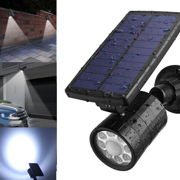 Al Sl15 Solar 8 Led Pir Motion Sensor