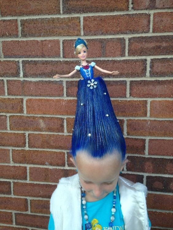 Crazy Hair Day At School Ideas | Get Your Holiday On - Hair Beauty