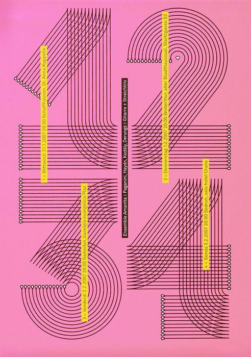 Poster: Ensemble Amanita. Remo Caminada. 2006