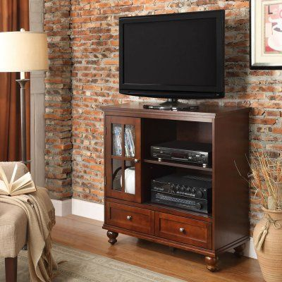 Convenience Concepts Tahoe Highboy TV Stand   8067000CH