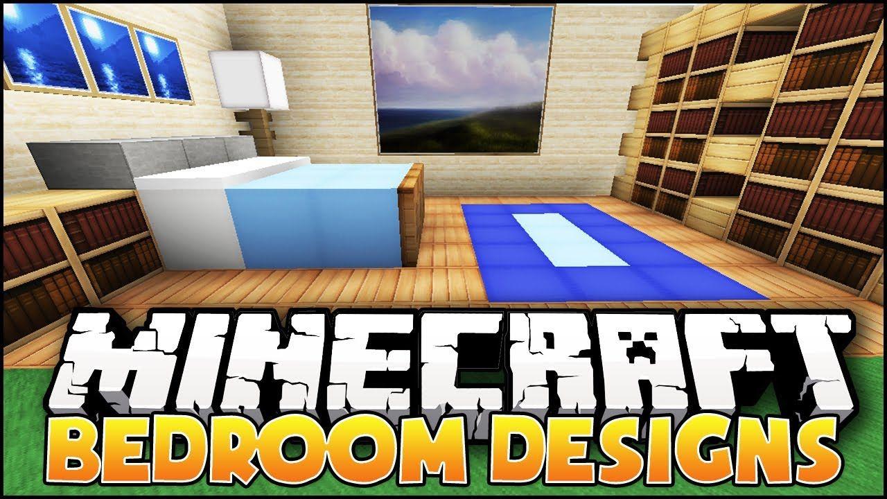 minecraft nice bedroom designs ideas caroline. Black Bedroom Furniture Sets. Home Design Ideas